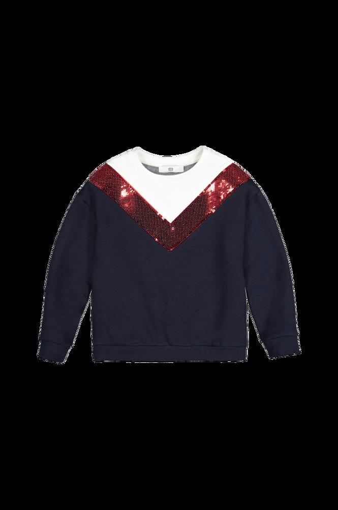 La Redoute Sweatshirt med rund halsudskæring med V-mønster