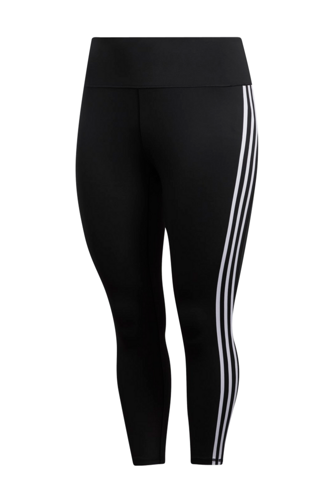 adidas Sport Performance Træningstights Believe This 3-Stripes 7/8 Tights Plus