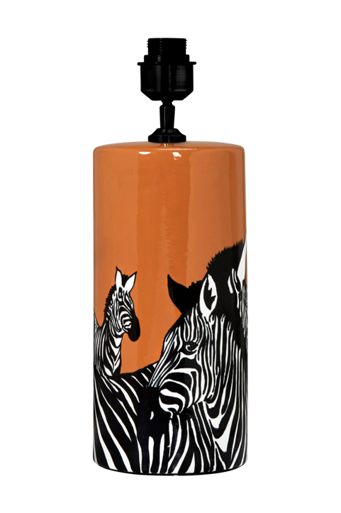 Lampfot Zebra 42 cm