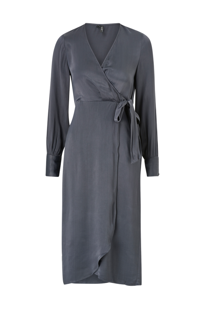 Vero Moda Kjole vmGili 7/8 Calf Wrap Dress