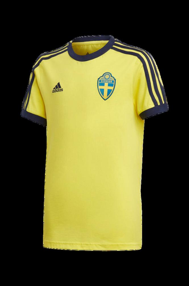 adidas Sport Performance Fodboldtrøje Sweden 3-stripes Tee