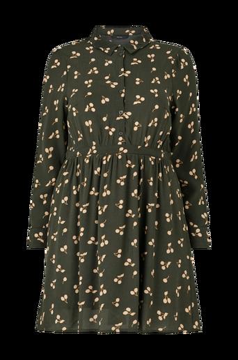 Mekko vmFala LS Short Dress Wvn Curve