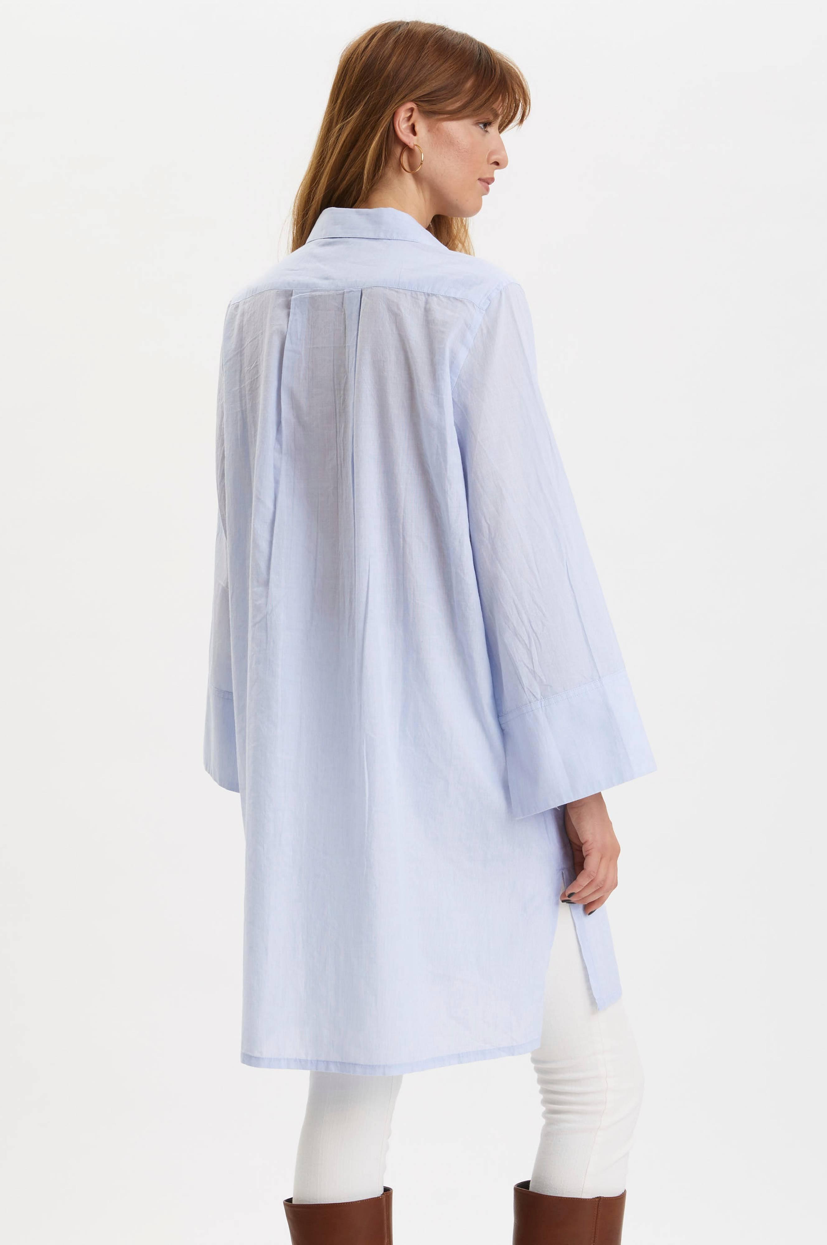 Odd Molly Langskjorte Electrifying Long Shirt Blå