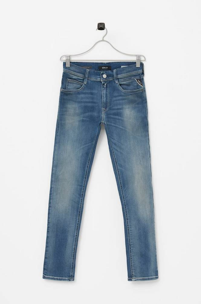 Se Replay Jeans Hyperflex, super slim ved Ellos