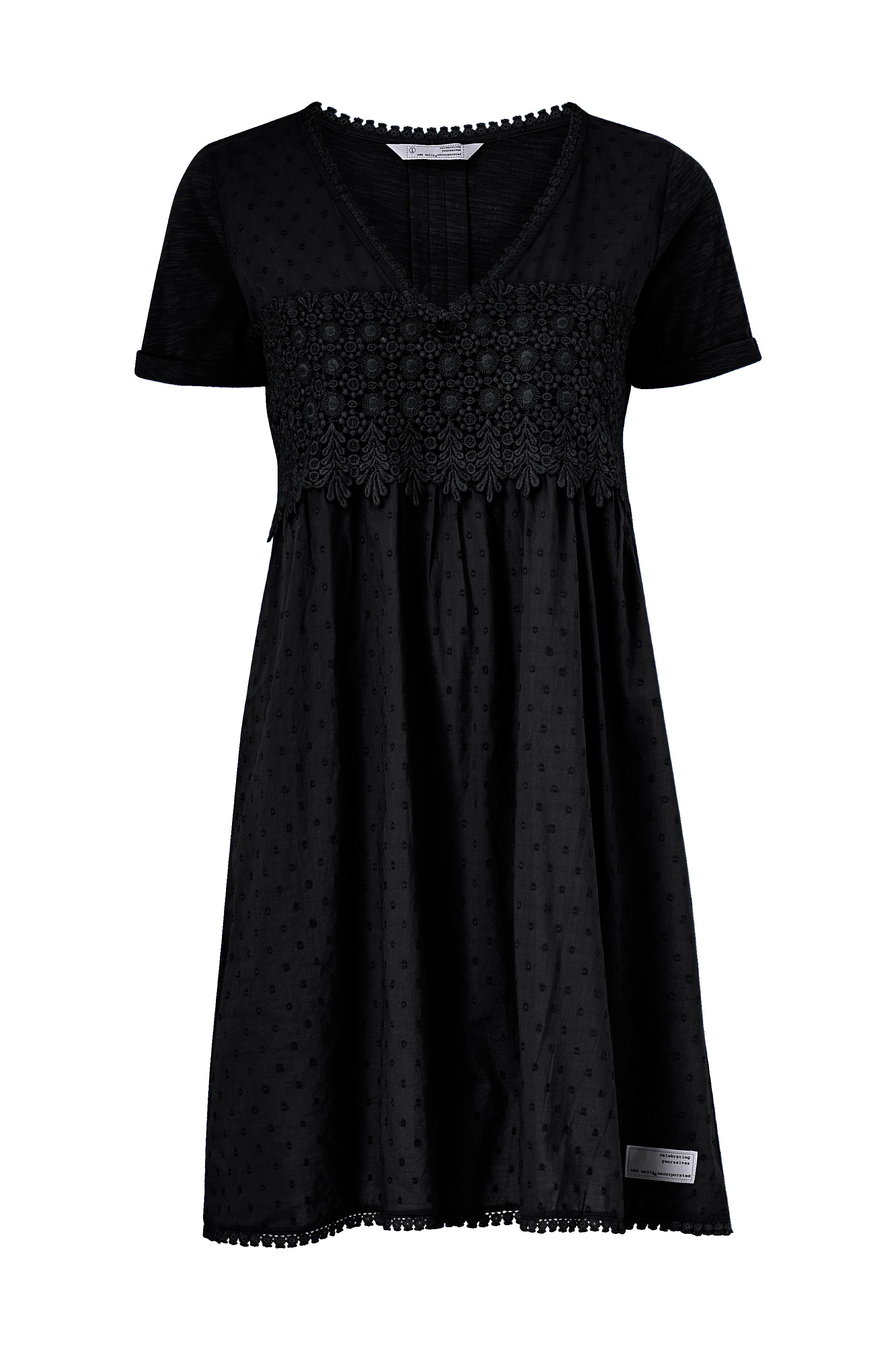 Svart klänning från Odd Molly till dam.