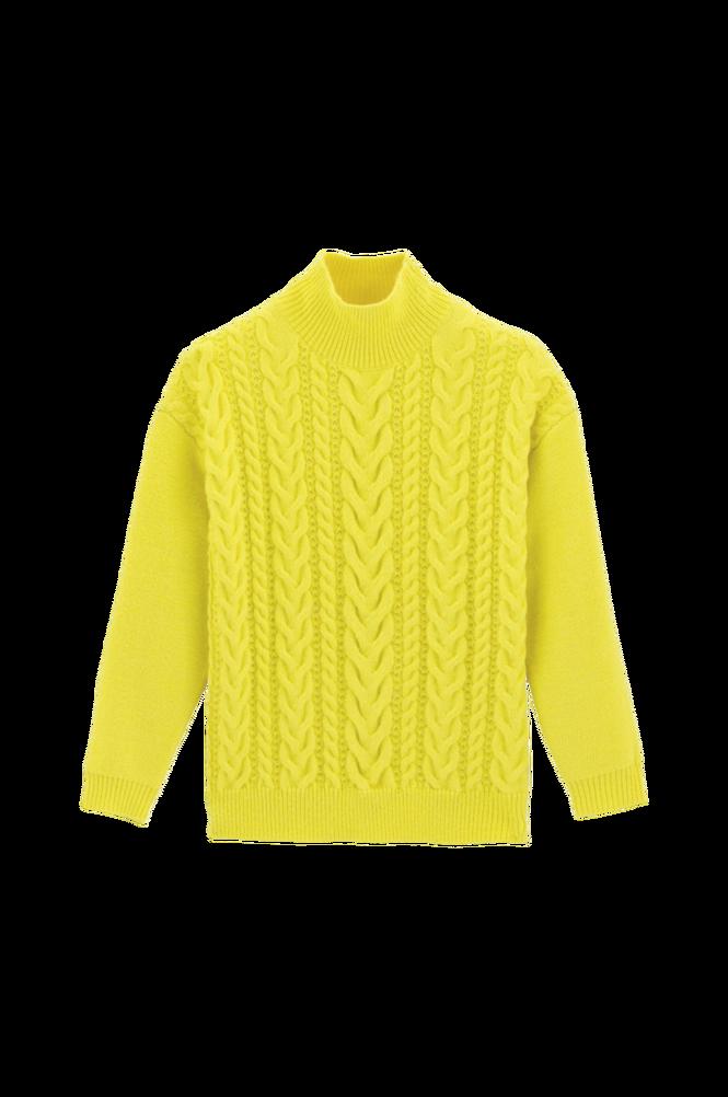 La Redoute Kabelstrikket trøje med høj krave