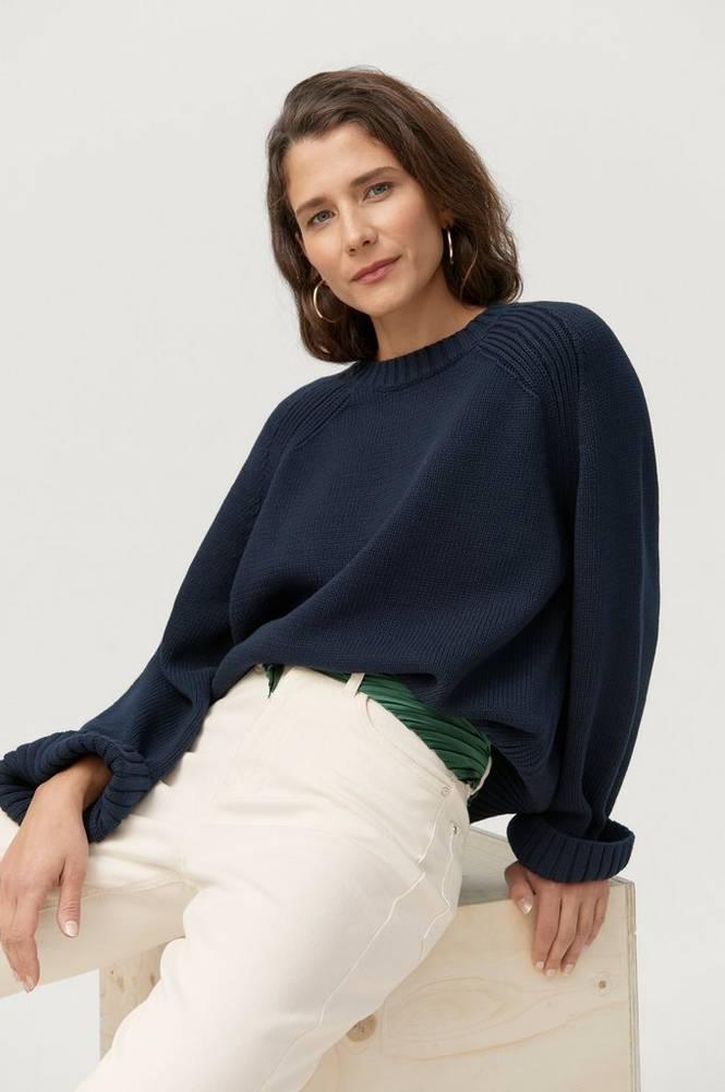 Dagmar Trøje Emily Round Neck Sweater