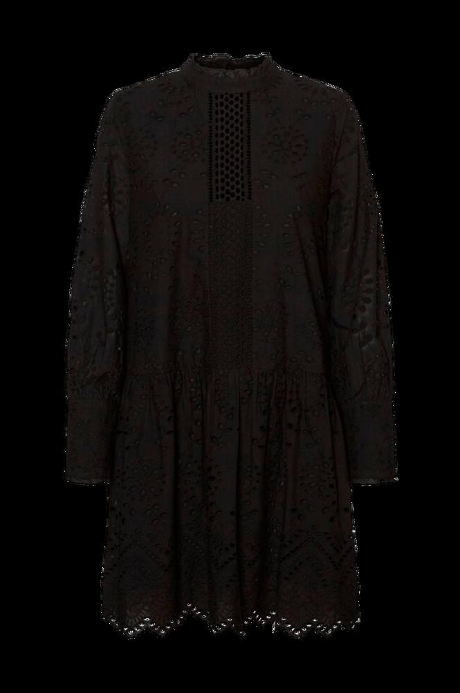 Vero Moda Kjole vmPerfect Emb L/S Short Dress