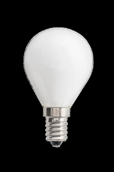 Ljuskälla E14 LED 3-steg dimbar Klot Opal 0,4-5W