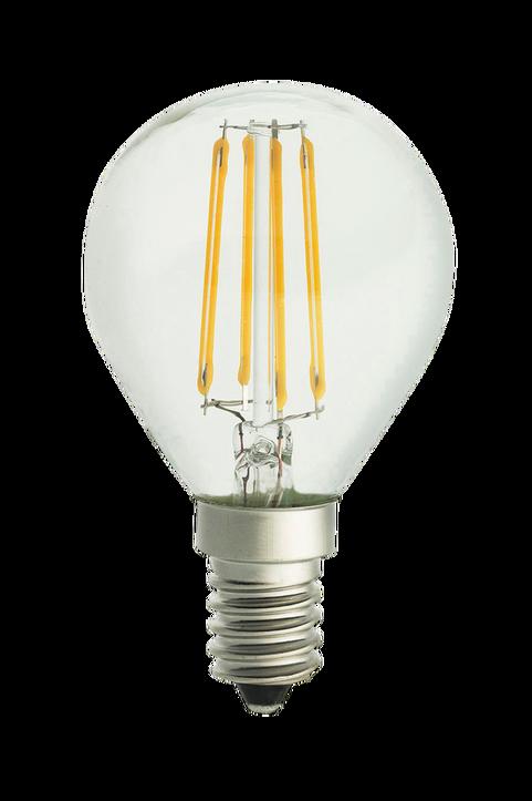 Ljuskälla E14 LED 3-steg dimbar Klot Klar 0,4-5W