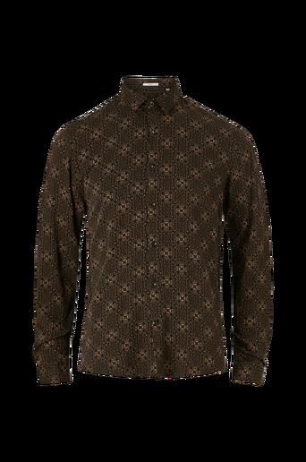 Kauluspaita Ornamental Viscose Shirt L/S