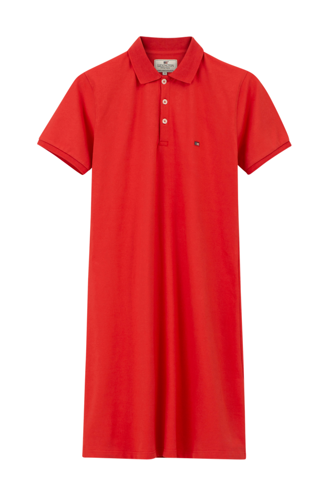 Lexington Kjole Laura Pique Polo Dress