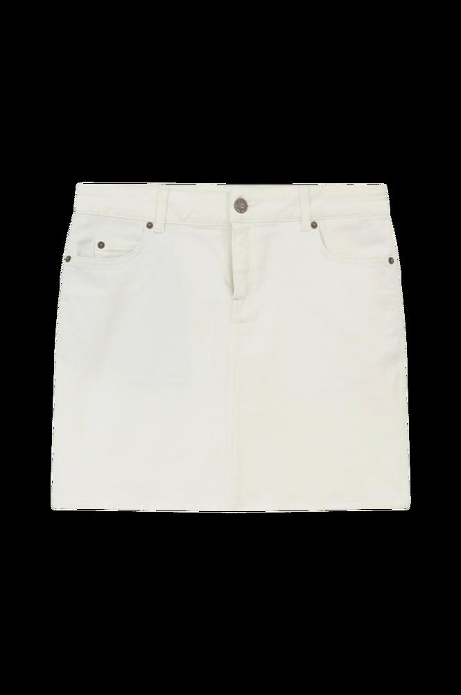 Lexington Denimnederdel Alexa White Denim Skirt