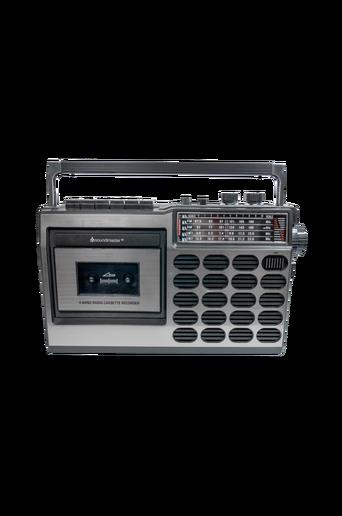 Retroradio ja kasettisoitin