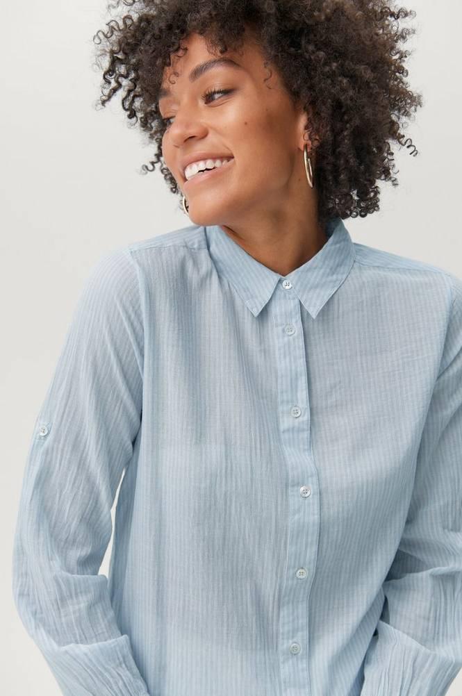 Second Female Skjorte Dominus LS Shirt