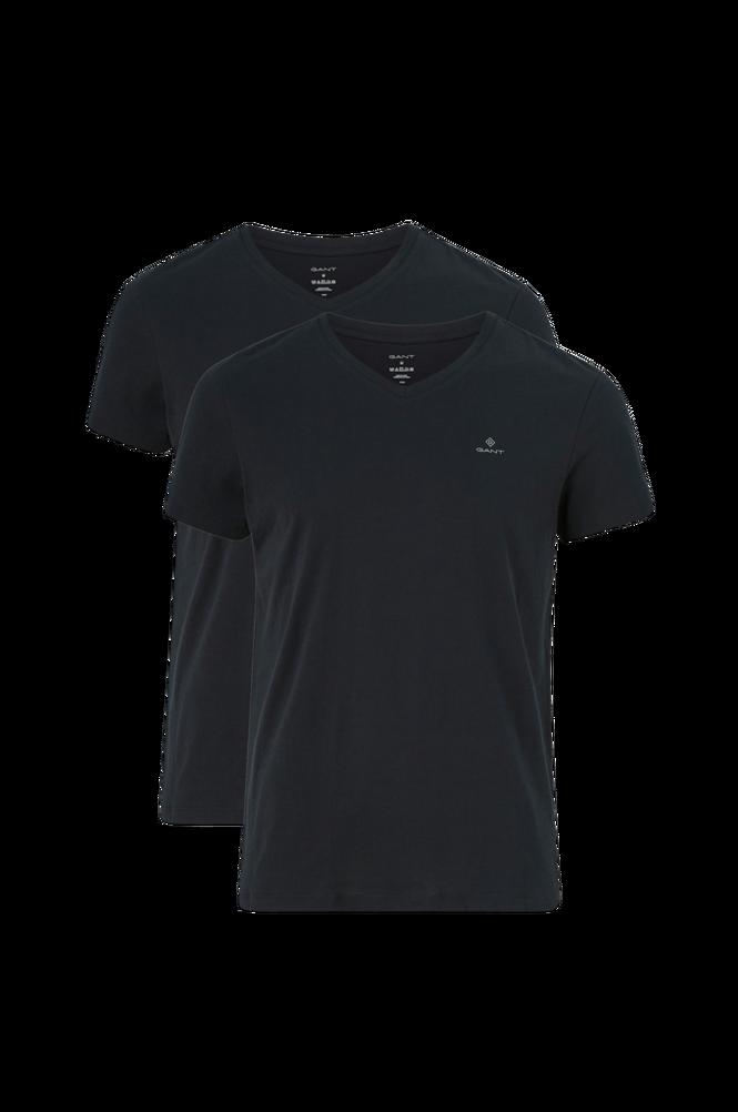 Gant T-shirt Basic V-neck 2-pack