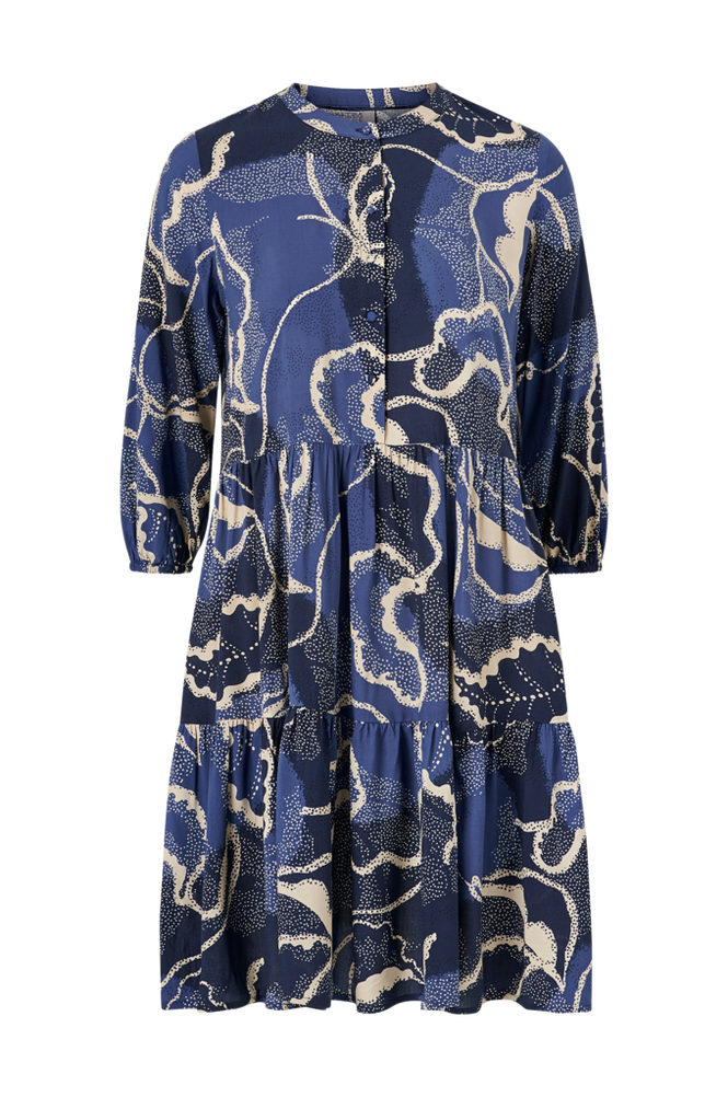culture Kjole cuShania Leaf Dress