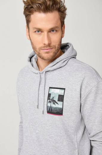 Collegepusero Graphic Relaxed Hood