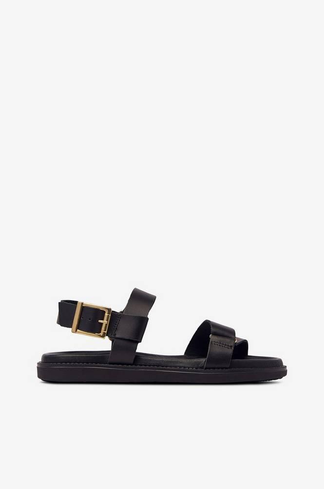 Bianco Sandaler biaDebbie Leather Strap Sandal