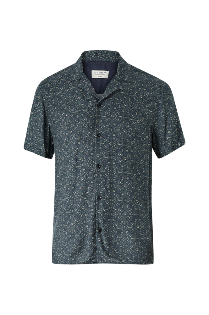 GABBA Kortærmet skjorte Ramie SS Shirt