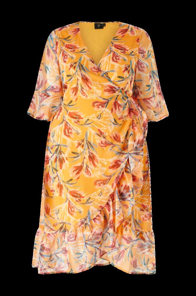 ZAY Slå om-kjole yLavrin S/L Maxi Dress