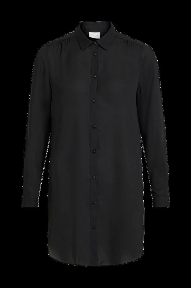 Vila Lang skjorte viLucy Button L/S Tunic