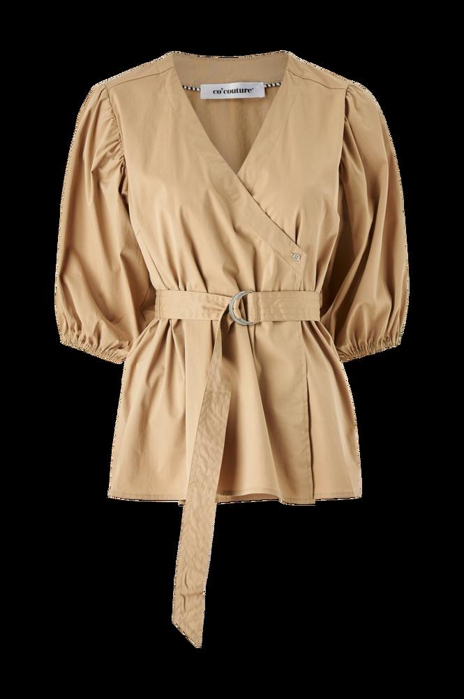 co'couture Slå om-bluse Pretoria Wrap Shirt