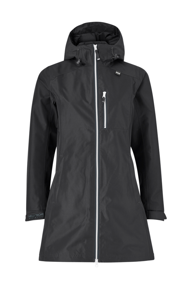 Helly Hansen Regnjakke W Long Belfast Jacket
