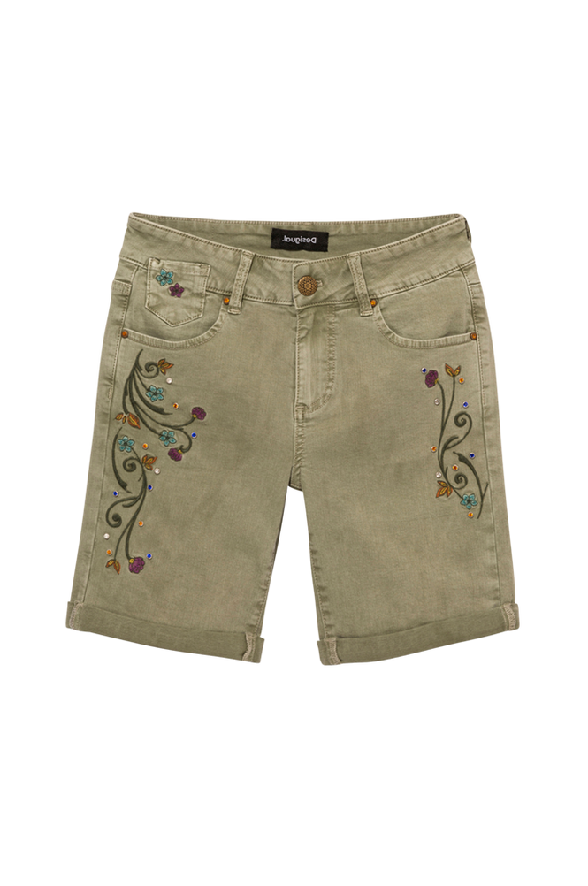 Desigual Shorts Pant_Virtu Bermuda