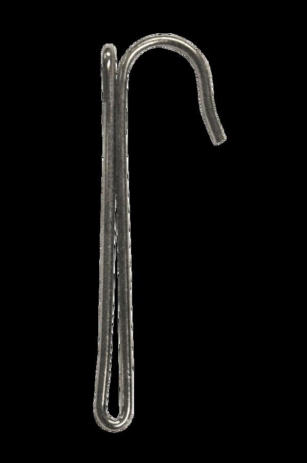Bilde av 1 fingerkrok løkkekrok - Sølv
