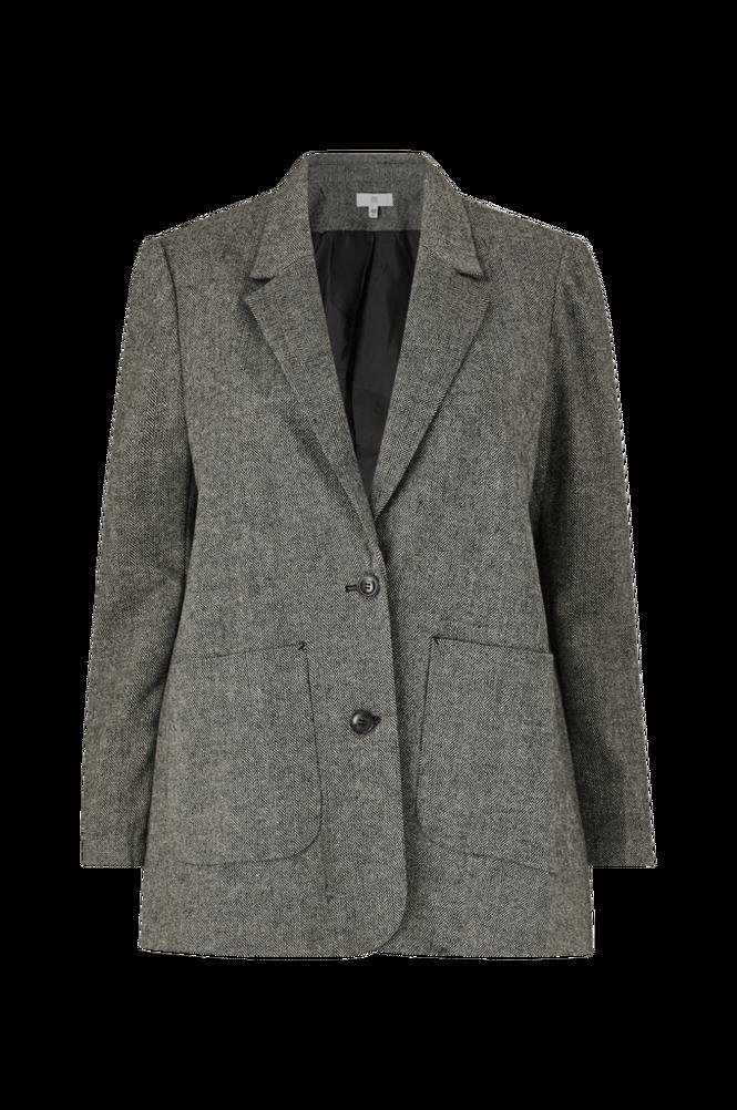 La Redoute Lige blazer i tweed med sildebensmønster