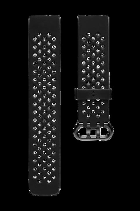 Charge 3 Sportarmband Black L