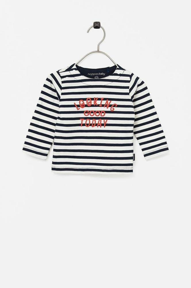 Noppies Top B Regular T-shirt ls Nottokno Y/D str