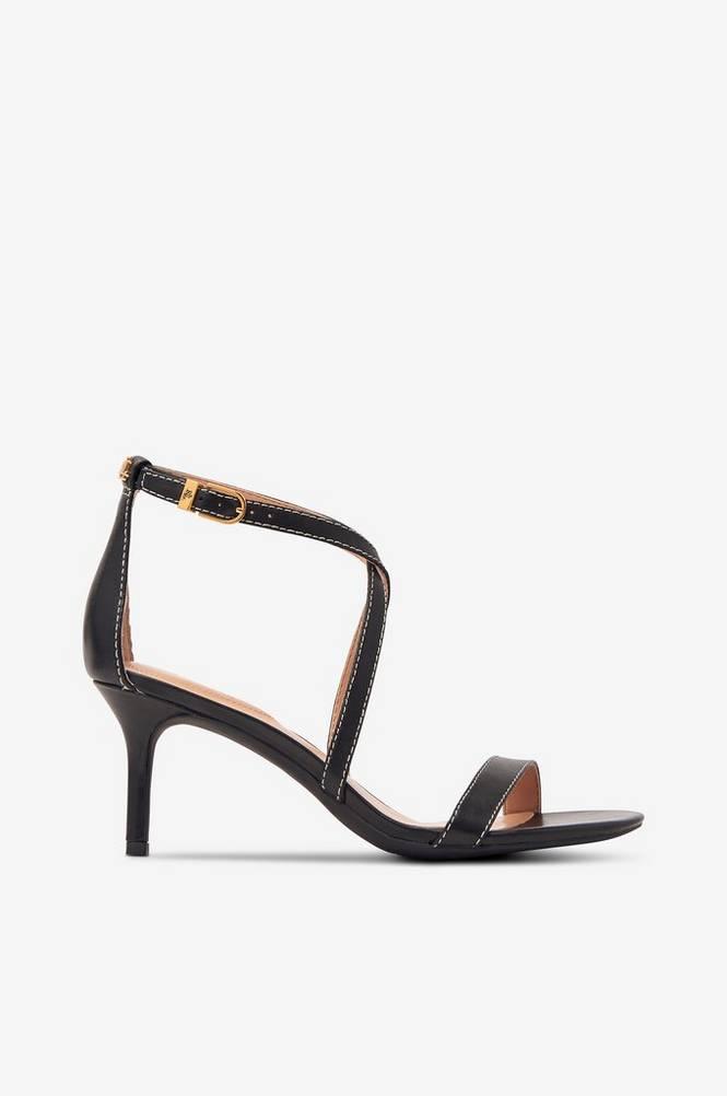Lauren Ralph Lauren Sandal Leaton Leather Sandal