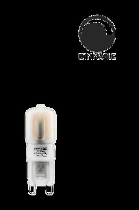 Ljuskälla G9 LED Dimbar 2,5W