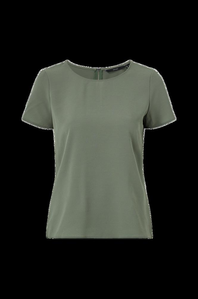Vero Moda Bluse vmSasha SS Zip Top Color