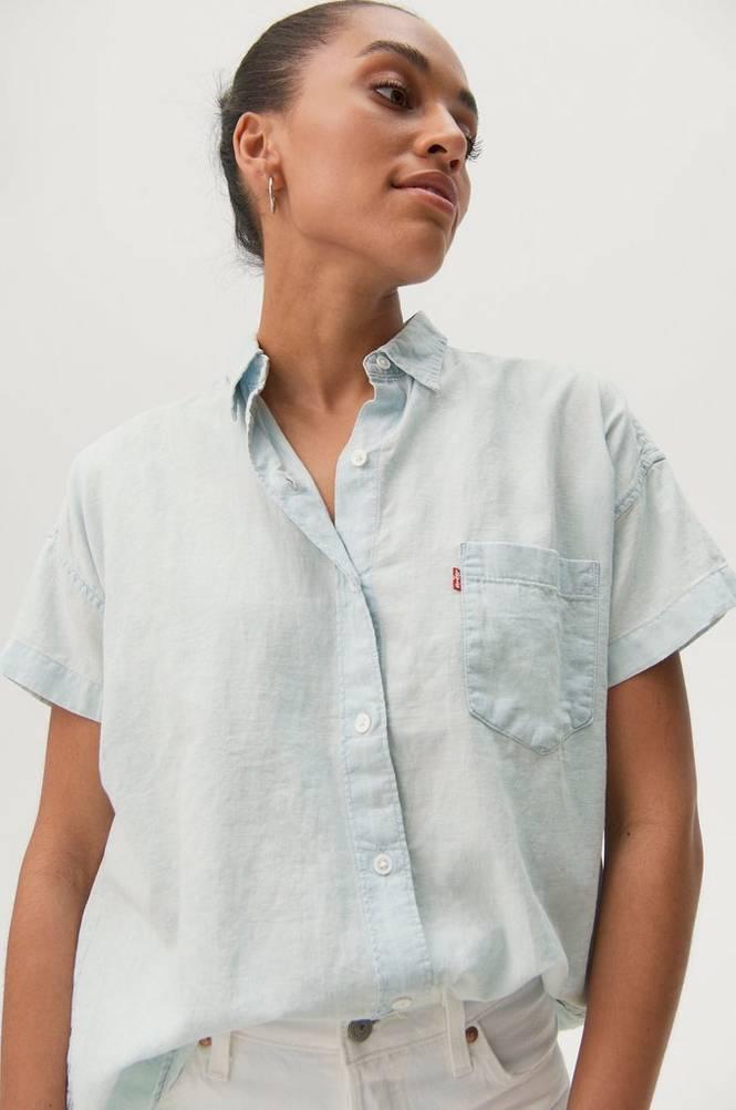 Levi's Hørskjorte SS Alexandra Shirt