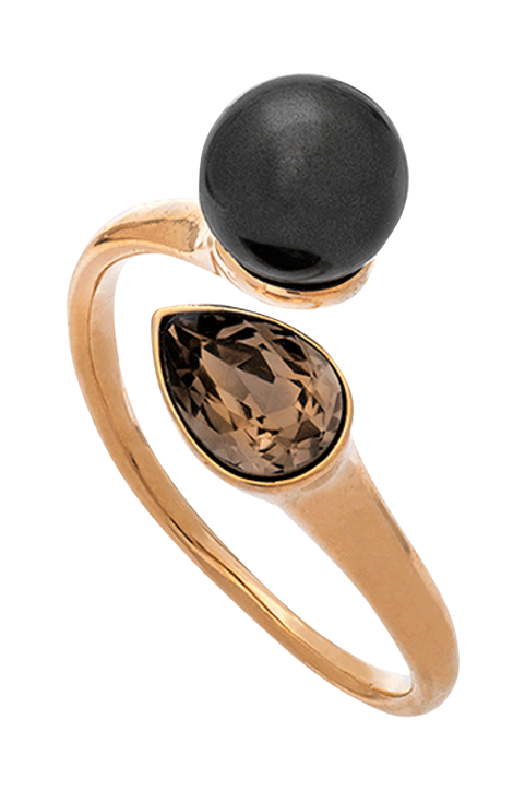 Ring Ella Black Pearl