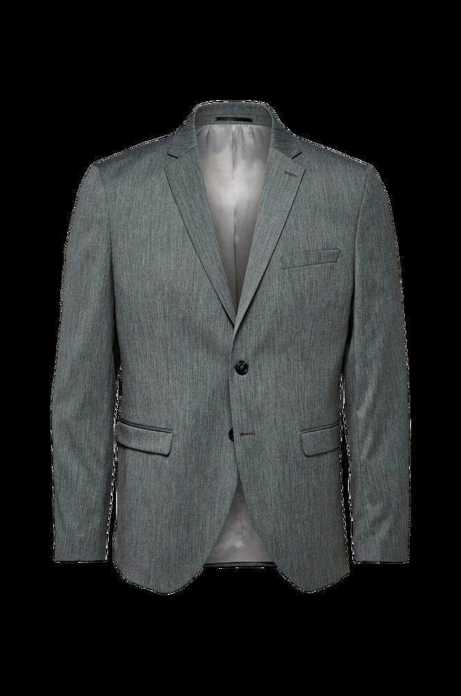 Selected Homme Blazer slhSlim-Mylobill Grey Strc Blz B