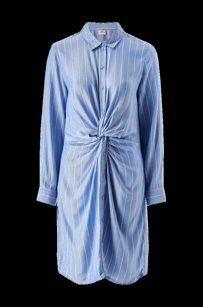Jacqueline de Yong Kjole jdyAlex L/S Knot Dress Denim Wvn
