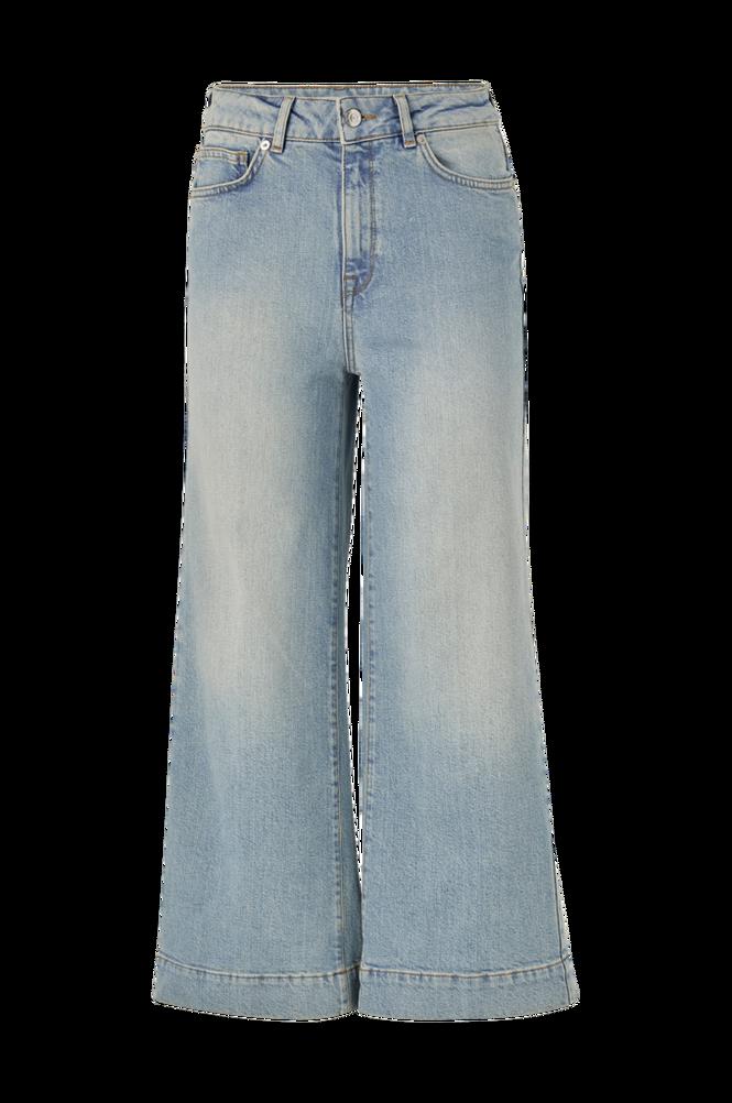 Selected Femme Jeans slfGene HW Wide Crop Bair Blue Jeans