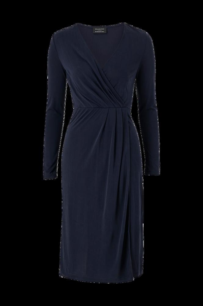 Selected Femme Slå om-kjole slfLeone Sara 7/8 Midi Dress