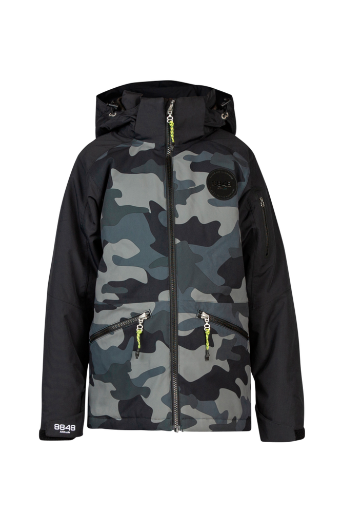 8848 Altitude Skijakke Camo Ashton JR Jacket
