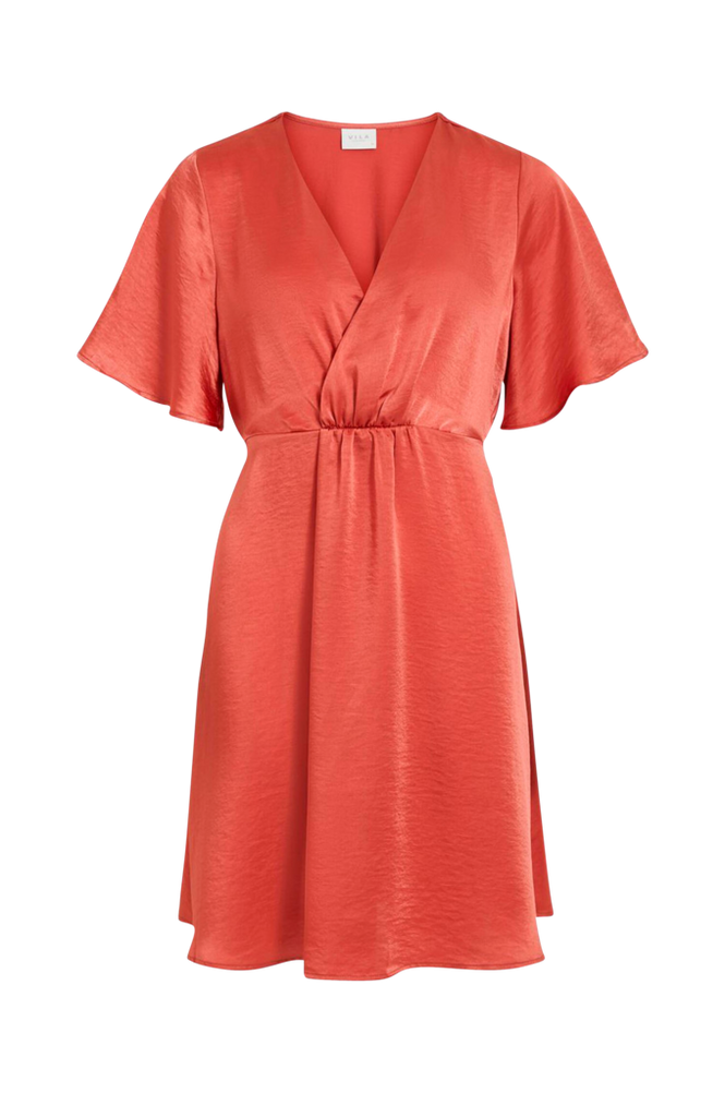 Vila Kjole viFloating S/S Short Dress