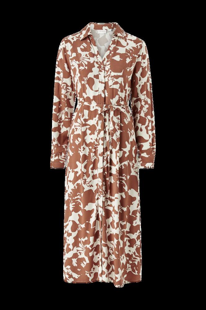 Vila Kjole viSustanacloudy L/S Midi Dress