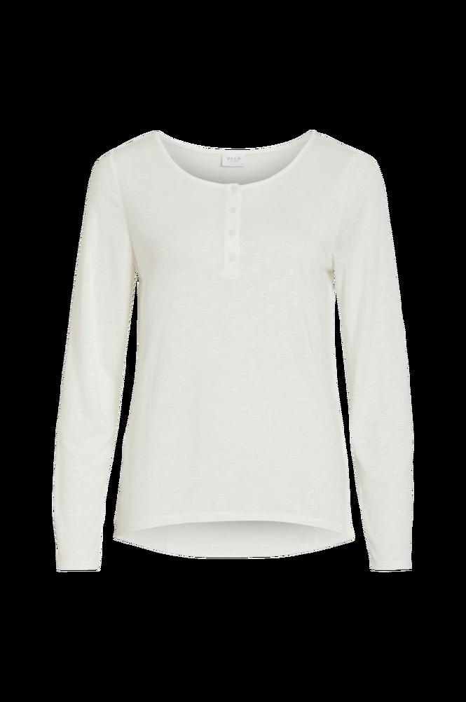 Vila Top viNoel Button L/S T-shirt Fav