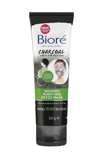 Biore110 g Whipped Purifying Detox Mask 110 ml