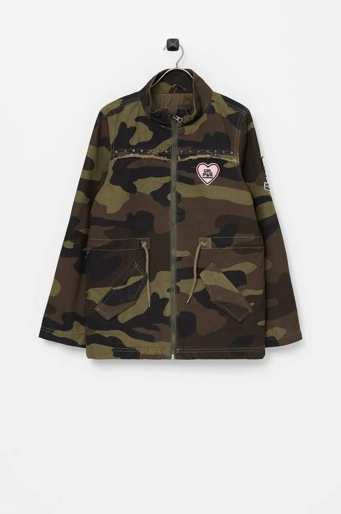 Name it Jakke nkfMelsa Camo Jacket