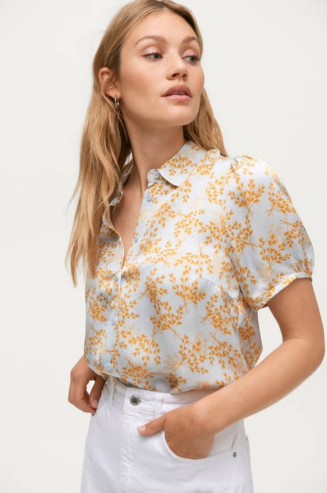 Second Female Bluse Sello SS Shirt