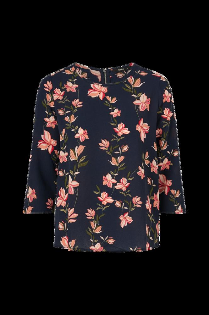 Only Bluse onlNova Lux 3/4 Sleeve Top Aop
